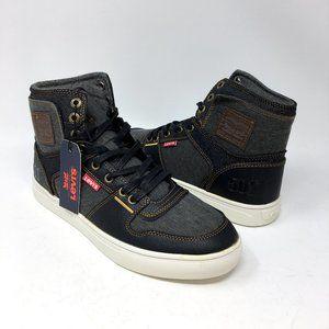 Levi's Mens Mason Hi Top 501 Denim Sneaker 8.5M